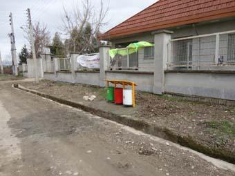 آموزش ساخت سطل زباله دهیاری روستای خورشیدکلا