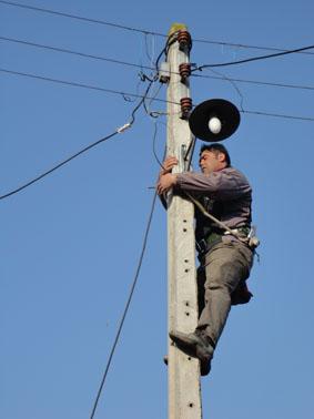 تعویض لامپ های معابر